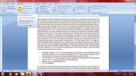 Cara Membuat Footnote Di 0ffice 2007 Catatan Kaki Aac Computer